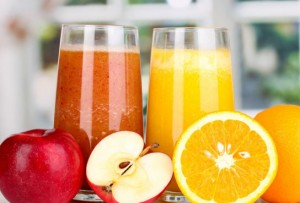 We have fresh juice daily