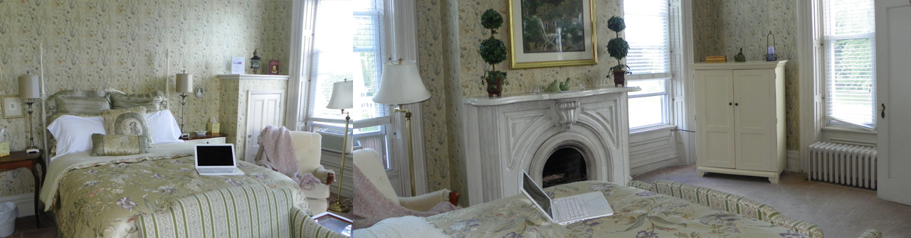 The William Shakespeare-Room-at-Marble-Mansion-Inn-vt